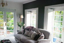 Bookshelves painting and decorating Bristol