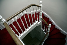 Stairway painting and decorating Bristol